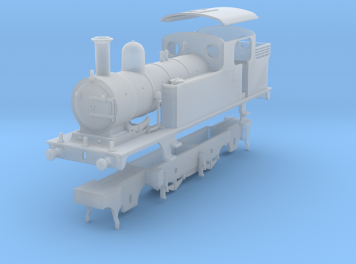 LNER class F5 fitted for Push-Pull working 3d printed