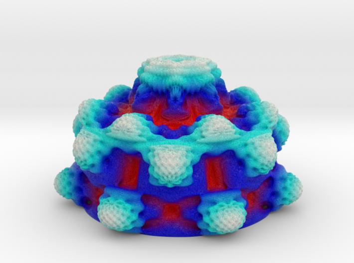 Frozen Fire Mandelbulb 3d printed