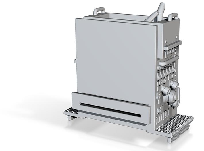 1/87 Engine pump panel 3d printed