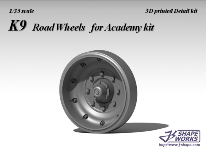 1/35 K9 road wheels 3d printed