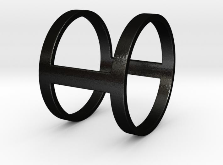 """I Line"" Ring 3d printed"