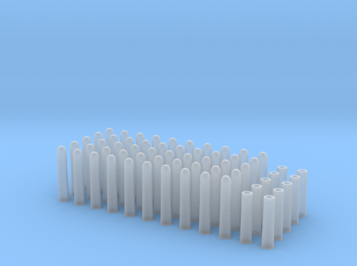 1:6 50rds 50-90 SHARPS 10 Casings 3d printed