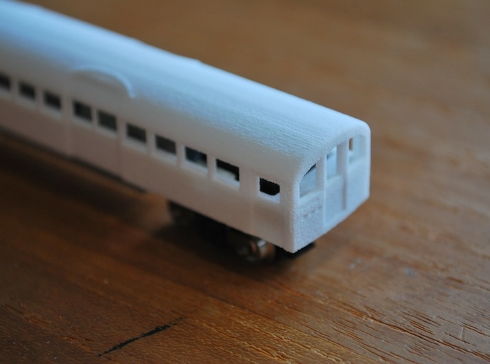 N Gauge 1959 Tube Train 4Car 3d printed