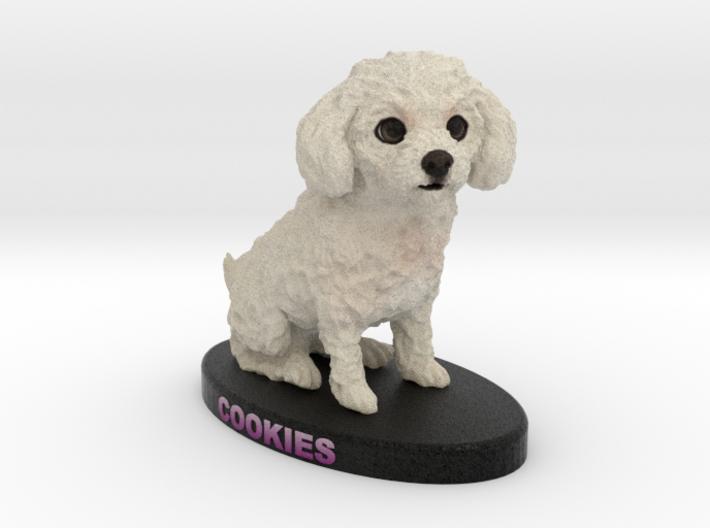 Custom Dog Figurine - Cookies 3d printed