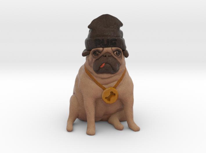 Thug Pug 3d printed