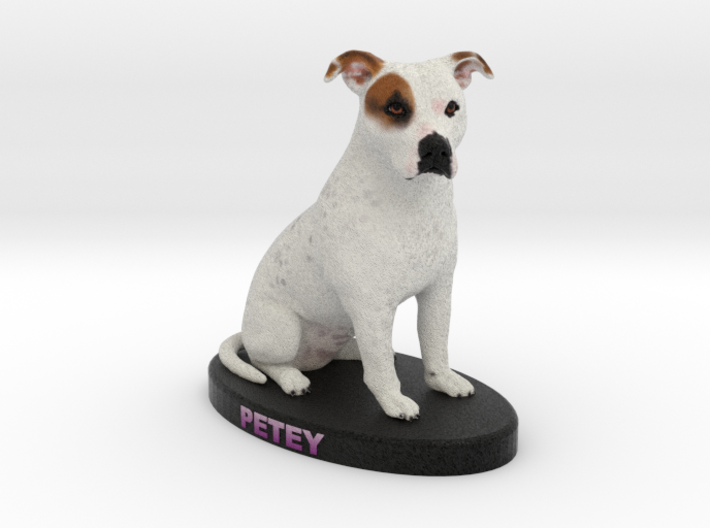 Custom Dog Figurine - Petey 3d printed