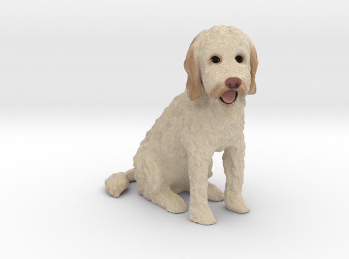 Custom Dog Figurine - Carlin 3d printed