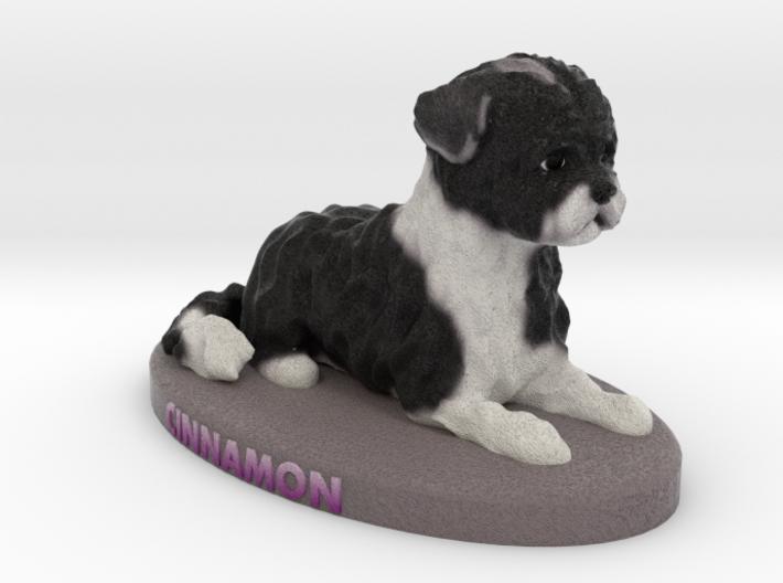 Custom Dog Figurine - Cinnamon 3d printed