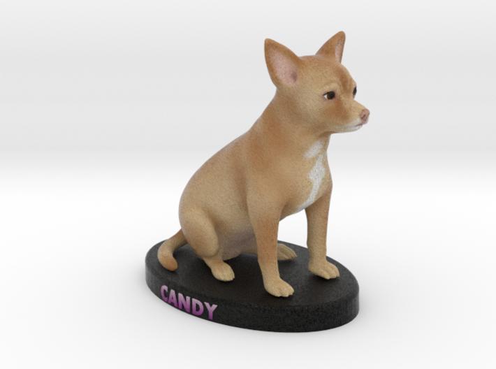 Custom Dog Figurine - Candy 3d printed