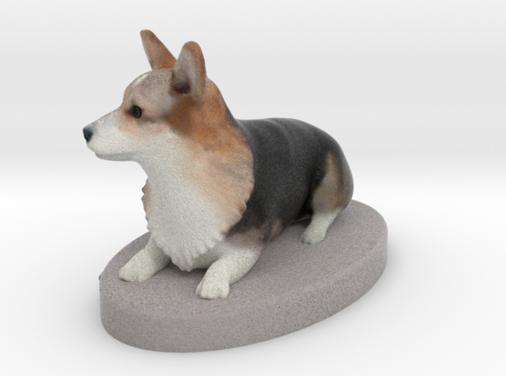 9200 - Gibbie - Figurine-meters 3d printed