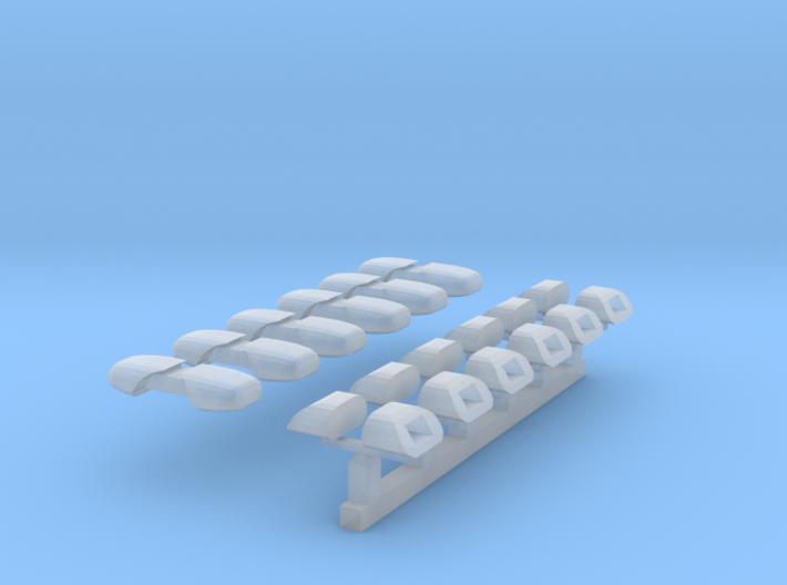 DBS 4000 - 6 Paar (Kurzversion für DLK) 1/87 3d printed