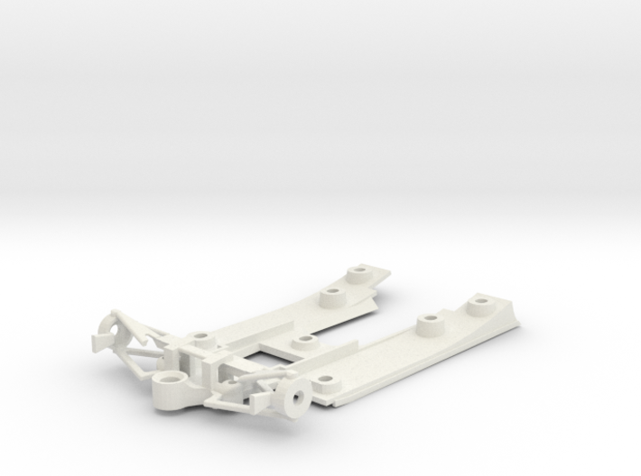 Williams FW07 chassis 3d printed