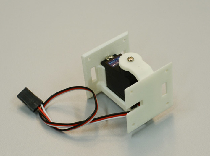 Active Hinge Servo Holder 3d printed
