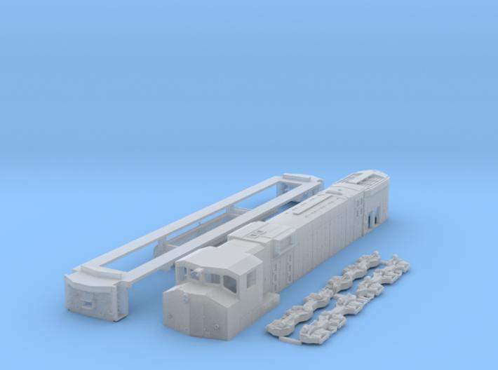 N Scale M630w 3d printed