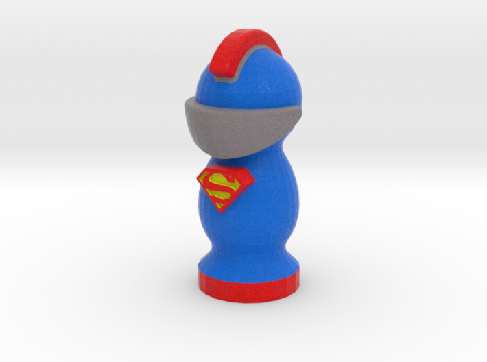 Catan Robber Knight Superman 3d printed