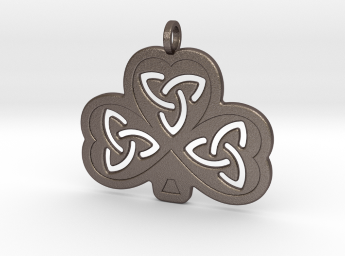 Celtic Shamrock 3d printed