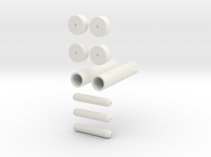 Mag Power Cylinders Kit Form 3d printed
