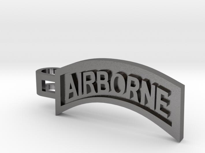 Airborne Tab Tie Bar 3d printed