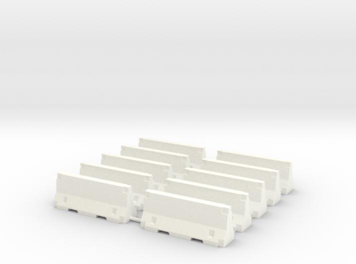 HO - Concrete Jersey 2m 3d printed