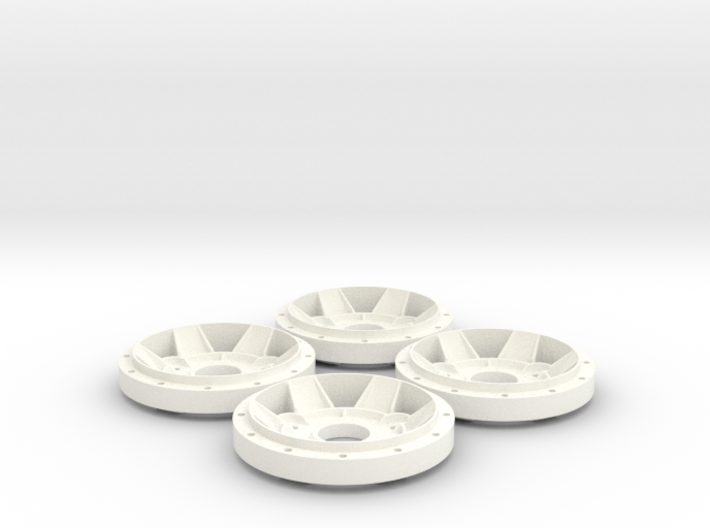 Gotti X13 Rim Star Scale 1:8 (1 set = 4 pieces) 3d printed