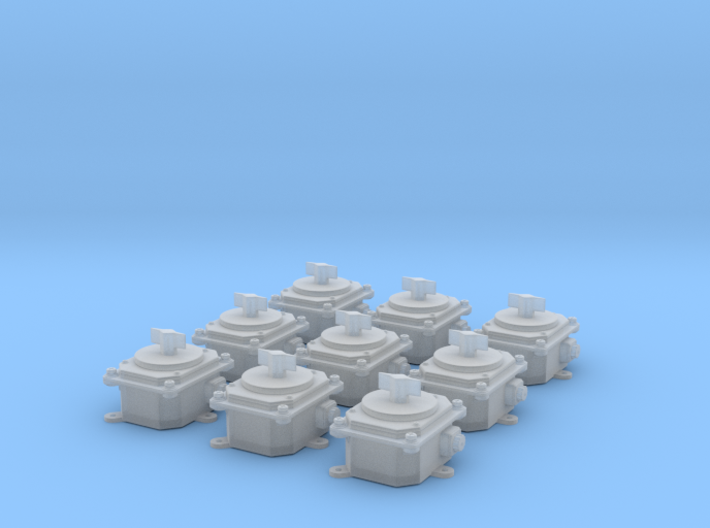 1/18 USN Rotary Selector Switch 3d printed