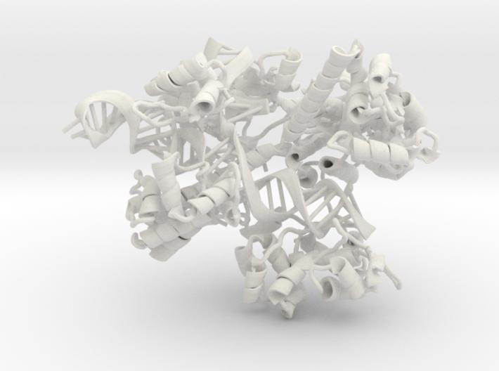 CRISPR Cas9 (mega scale) 3d printed