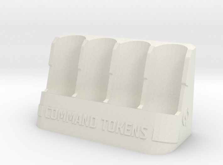 Command Tokens Vertical 3d printed
