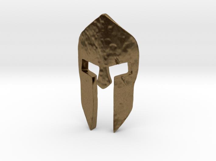 Spartan Helmet Pendant 3d printed