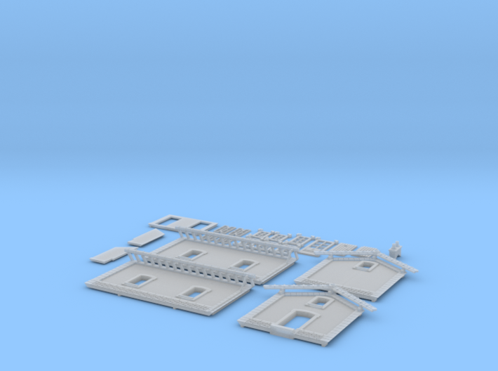NBV30 barrier guard house 3d printed