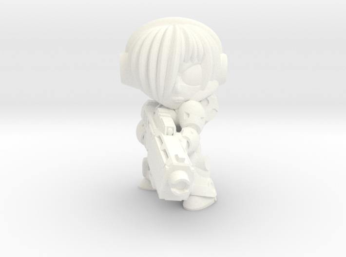 NATALYA CAGE - BEAM - EYES LEFT 3d printed