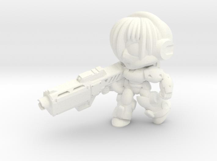 NATALYA CAGE - BEAM - CHARGING 3d printed