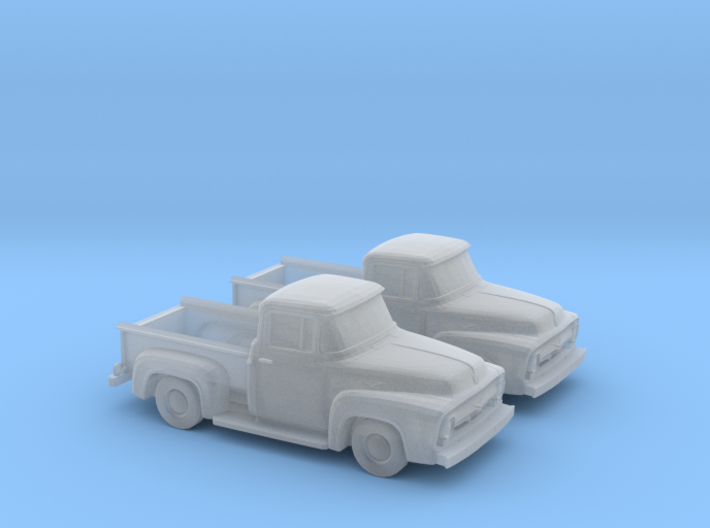 1/148 1956 Ford F100 3d printed