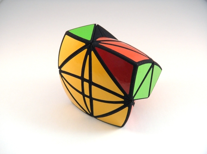 Tricopter 9 Pillow Puzzle 3d printed Jumbling Turn