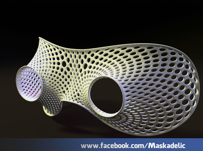 Party Mask Tunnel Vision: Aaaaaah 3d printed Tunnel Vision: Aaaaaah