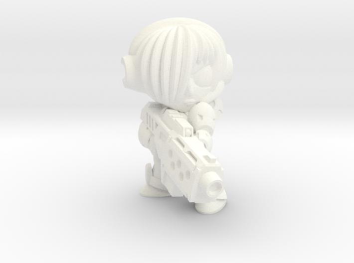 NATALYA CAGE - MGUN - EYES LEFT 3d printed