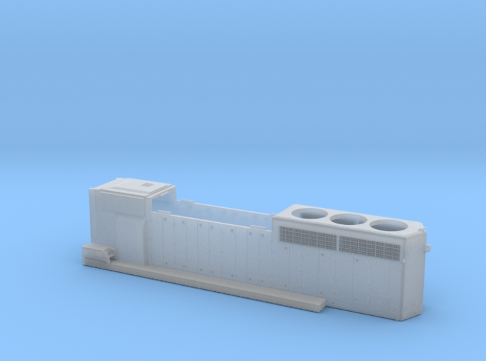 CN 5241-5278 SD40-2W (as built) Hood 1/87.1 3d printed