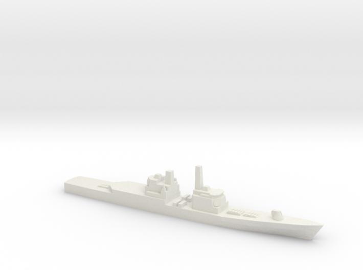 Strike Cruiser MK I Modernized, 1/1800 3d printed