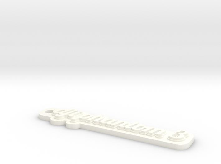 Phantom 3 Keychain 3d printed