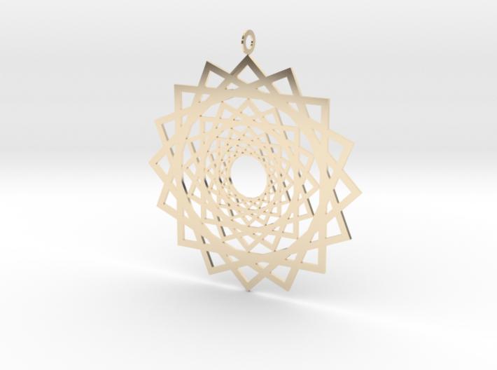 Endless Suns Pendant 3d printed