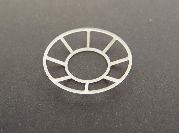 YT1300 BANDAY 1/144 TURRET WELL WINDOW SET 3d printed