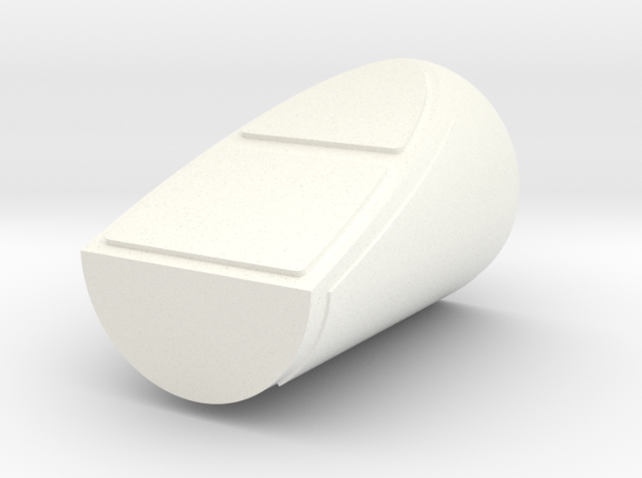 1/24th scale Side Booster Cap for Hawk Left 3d printed