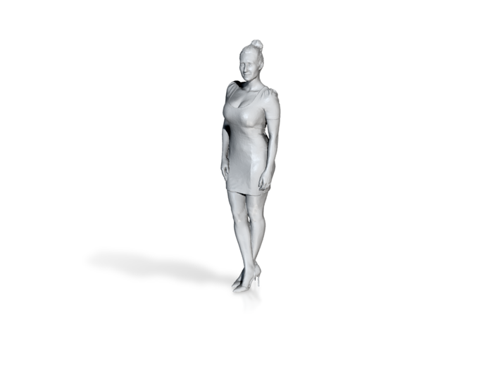 1:120 woman standing 3d printed