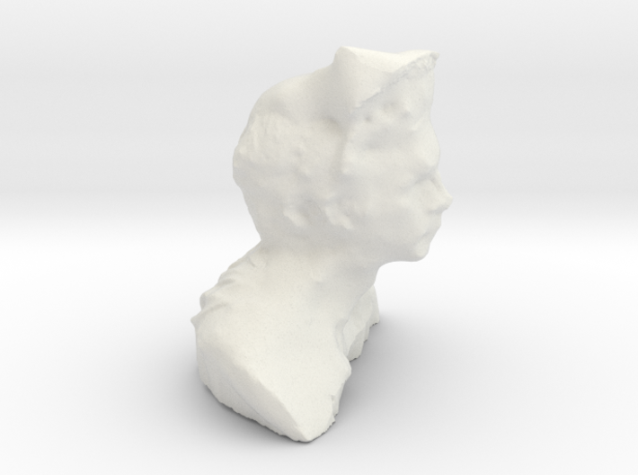 Chase's Head 3d printed