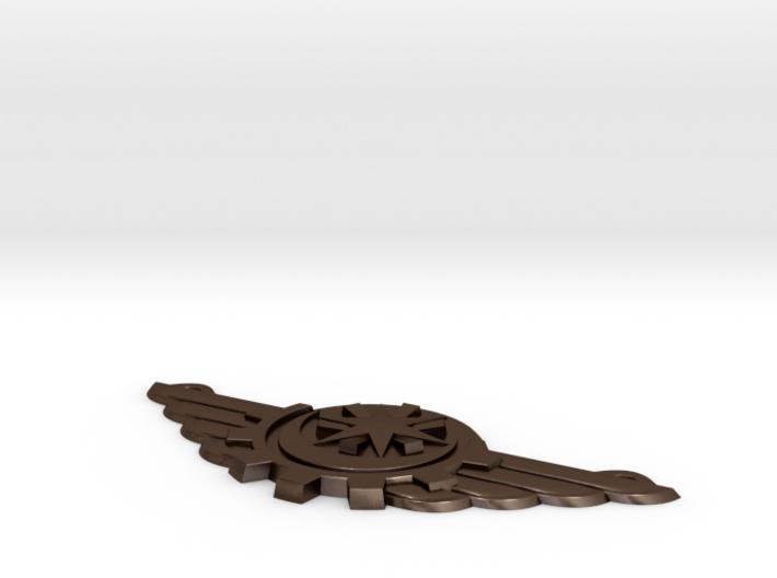 BlakOpal Eridu Winged Pendant 3d printed