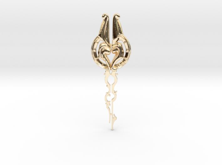 White Rabbit Key 3d printed