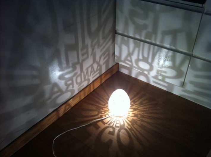 Talking Lamp 3d printed