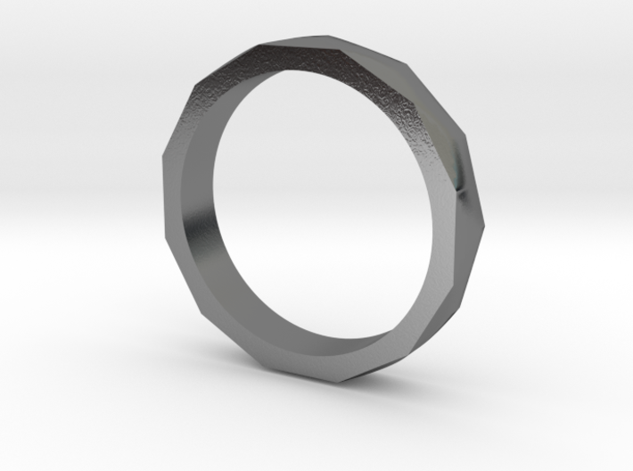 Engineers Ring - US Size 9.5 3d printed