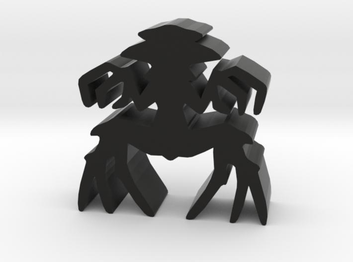 Game Piece, Dark Spider Master 3d printed
