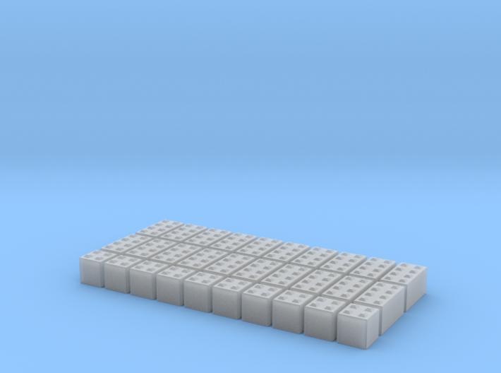 N Scale Concrete Blocks 3d printed