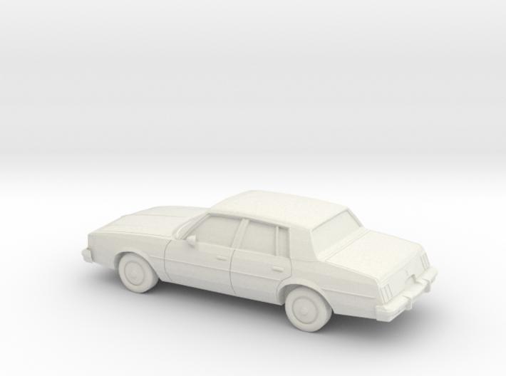 1/87 1984-88 Oldsmobile Cutlass Sedan 3d printed